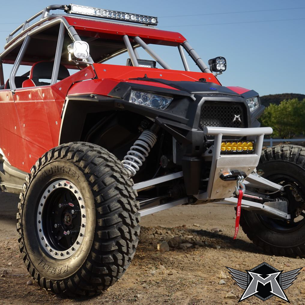madigan motorsports rzr xp 1000 mojave front bumper w. Black Bedroom Furniture Sets. Home Design Ideas