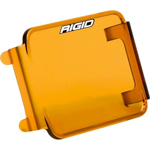 RIGID D- SERIES LIGHT COVERS- AMBER