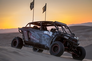 BAU Polaris RZR XP4 1000 custom fast back roll cage