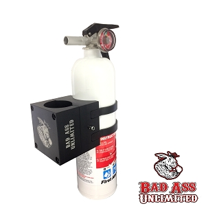 Fire Extinguisher Quick Release and 2.5 lb. Amerex extinguisher