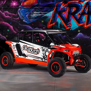 GlazzKraft Fiberglass Body Kit Polaris RZR XP4 1000 (14-16)