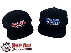 Bad Ass Unlimited Snap Back Hat