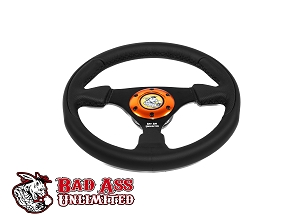 UTV Leather Steering Wheel