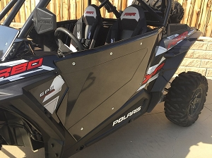 Polaris RZR XP 1000 - 2 Seat Bolt on Door Kit - Madigan Motorsports