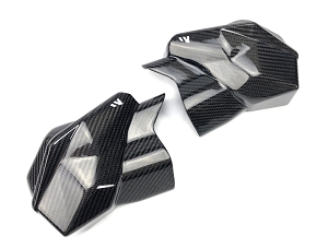 FOURWERX CAN AM X3 CARBON FIBER MID CAGE TRIM SET