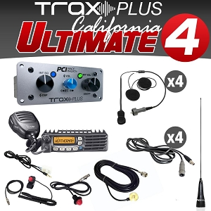 PCI Trax Plus California Ultimate 4 Offroad Communications