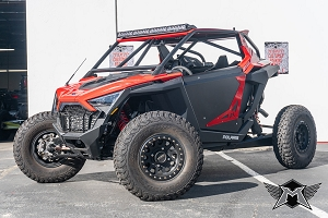 POLARIS PRO XP 2 SEAT STOCK POINT ROLL CAGE