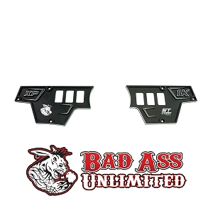 POLARIS RZR UPPER DASH PLATES - 6 SWITCH HOLES