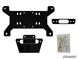 CAN AM MAVERICK WINCH MOUNTING PLATE