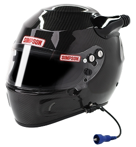 Simpson Dirt Devil Racing Helmet